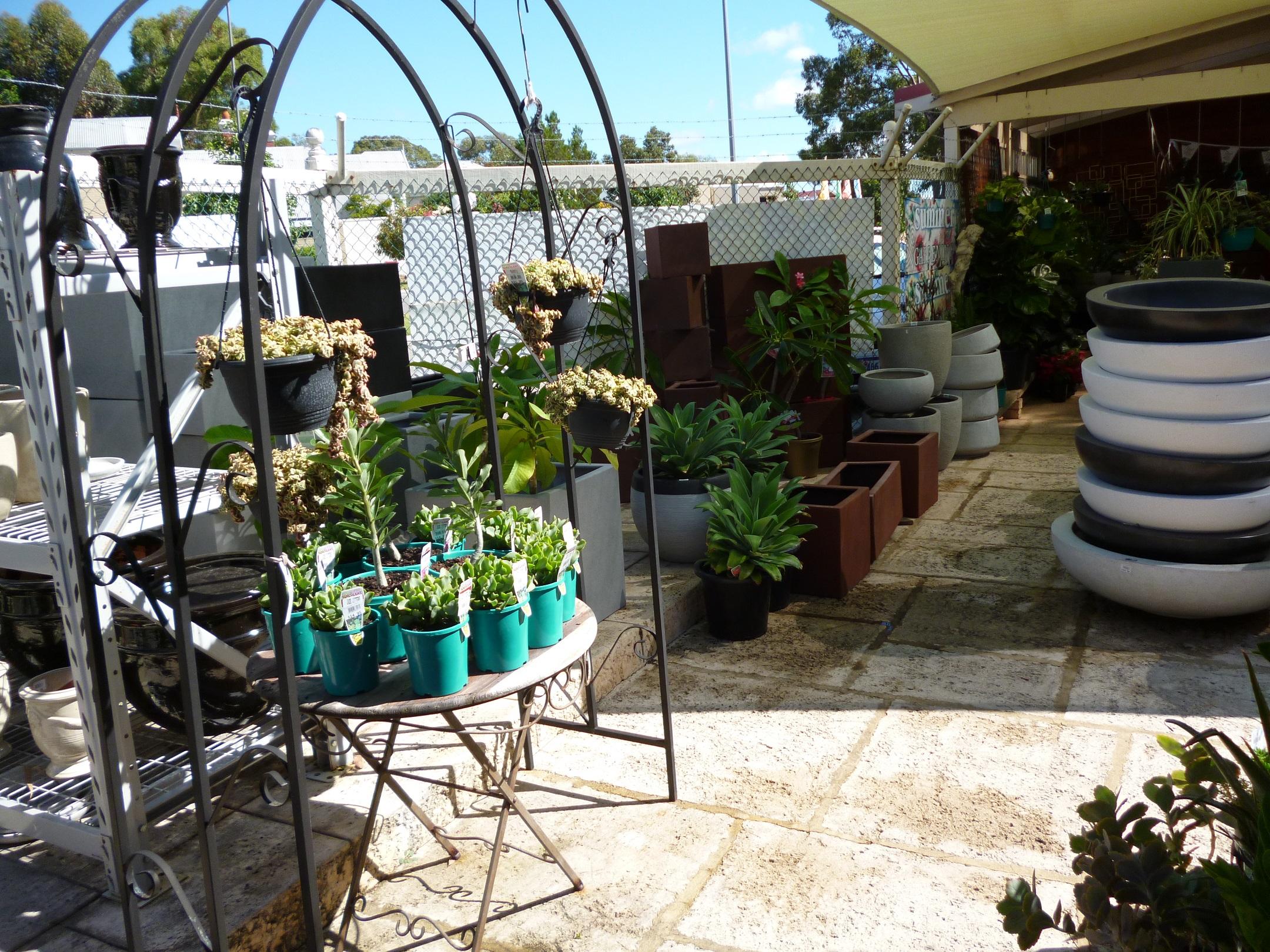 Pots Garden Elegance A Retail Garden Centre In Subiaco
